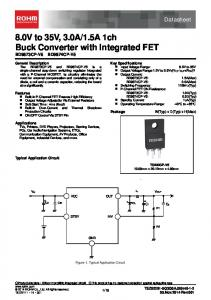 8.0V Converter with Integrated FET