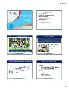 Briefing Degree TA 2019 edited for website