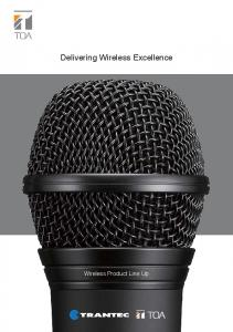 Delivering Wireless Excellence