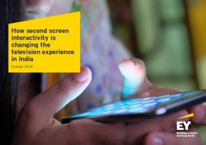 How second screen television experience in India
