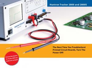 Huntron Tracker 2800 and 2800S