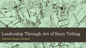 Leadership Through Art of Story Telling