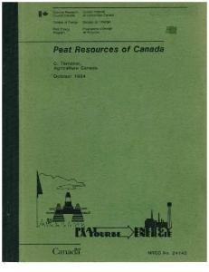 PEAT RESOURCES OF CANADA