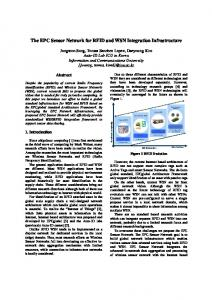 The EPC Sensor Network for RFID and WSN Integration