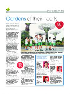 THE STRAITS TIMES TUESDAY, MARCH 10, 2015 3 and …