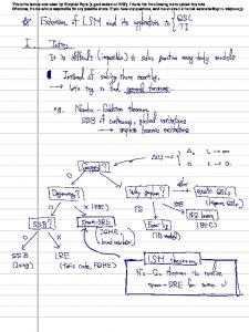 This is the lecture note taken by Hiroyuki Fujita (a grad